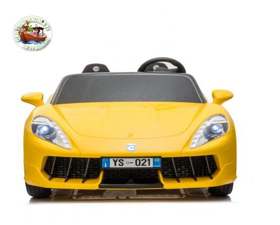 MONACO GT4 RACE 24V GIALLA NEW