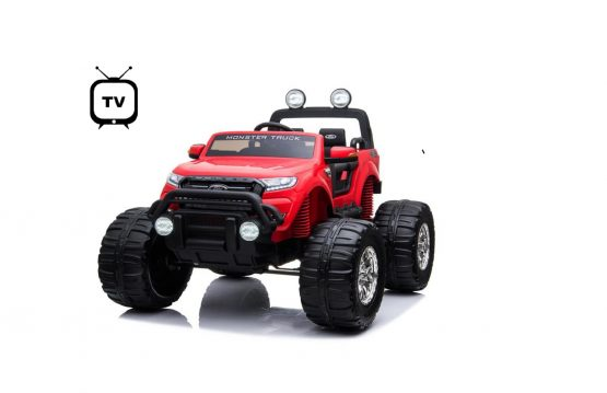 FORD MOSTER JEEP 4X4 FULL TV ROSSO
