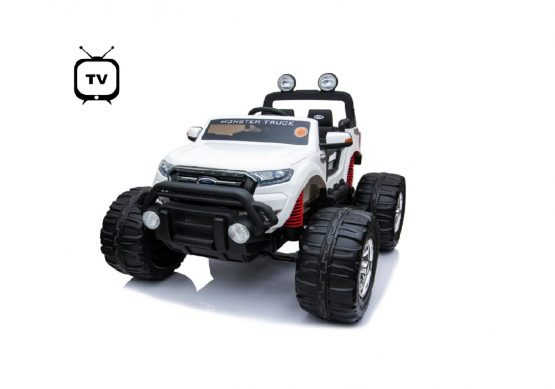 FORD MOSTER JEEP 4X4 FULL TV BIANCO