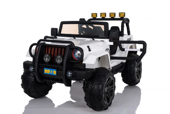 Jeep Wrangler 4×4 Bianca