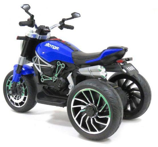 Moto Castom 12V BLU