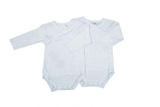 BABY VIP BODY SCALDACUORE NEONATO MANICA LUNGA IN COTONE 2 PZ J1576/01