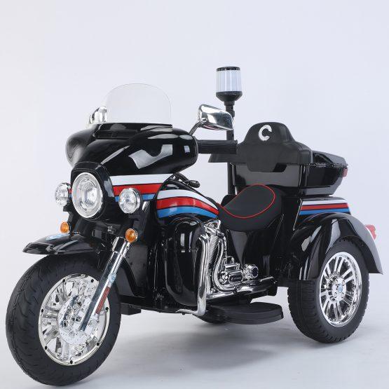 MOTO POLICE NERA GLOSSY