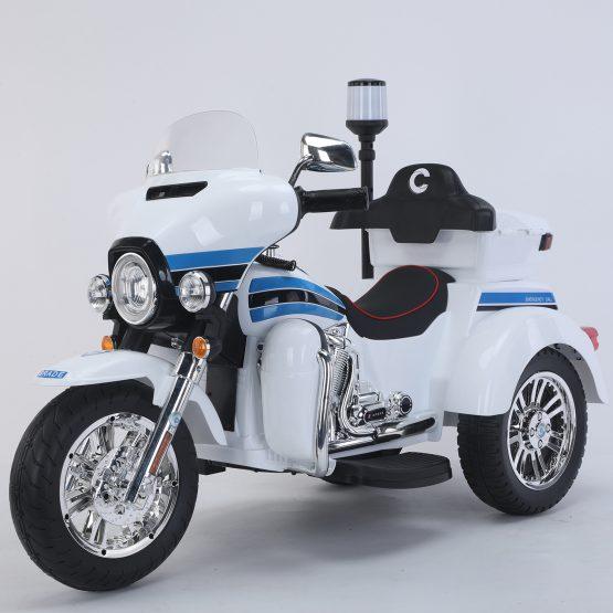 MOTO POLICE BIANCA