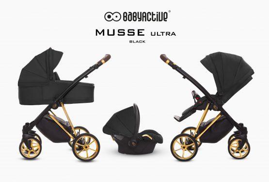 BABYACTIVE TRIO MUSSE BLACK GOLD