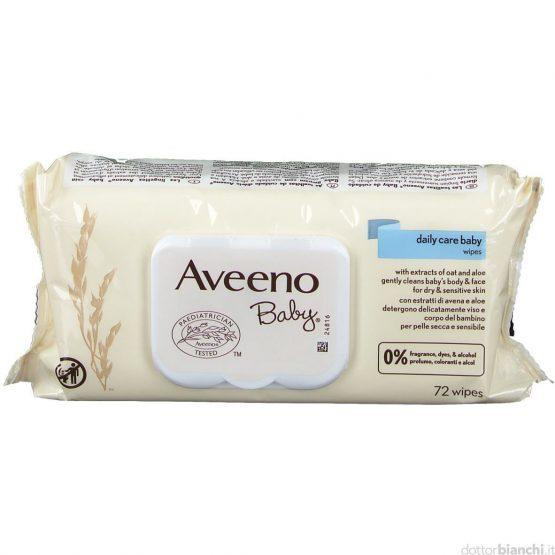 AVEENO BABY SALVIETTE 72 PZ
