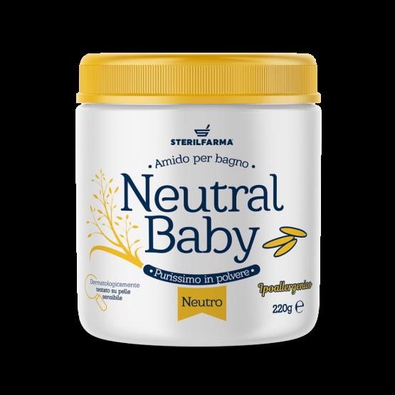 STERILFARMA NEUTRAL BABY AMIDO PER BAGNO 220GR