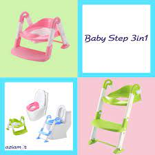 BABY STEP 3 IN 1 VASINO SEDILE CON SCALETTA  -AZIAMOR –
