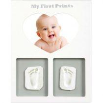 mibb-my-first-prints-kit-impronta-piedi-per-neonato-con-foto-my-memory-kit-kit-formato-da-1-foto-in-cornice-e-due-calchi-per-man