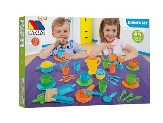 DINNER SET BOX 45 PEZZI – MOLTO-