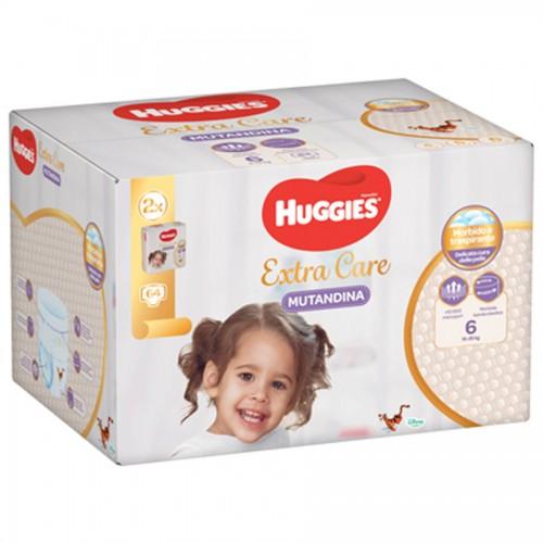 HUGGIES® EXTRA CARE MUTANDINA – MEGAPACK-