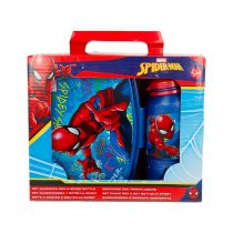 set-portapranzo-in-pvc-borraccia-sport-400ml-spiderman
