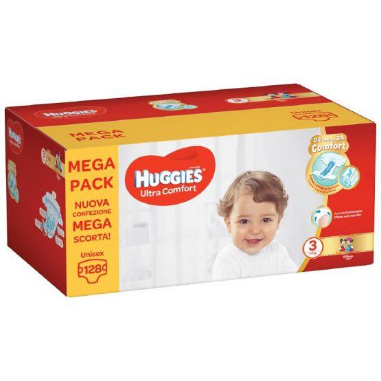 HUGGIES® ULTRA COMFORT – MEGAPACK